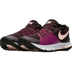 Nike Air Zoom Wildhorse 4 Running Shoes Women port wine/sunset tint-tea berry